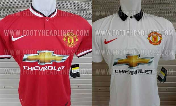 Filtran posibles camisetas del Manchester United